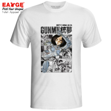 Alita Coming From Manga T-shirt 3D Design Battle Angel Gunnm Gun Dream Gull Movie Novelty T Shirt Cool Women Men Top Tee