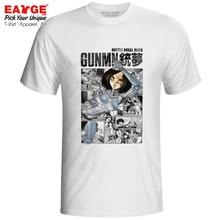 Alita Coming From Manga T-shirt 3D Design Battle Angel Gunnm Gun Dream Gull Movie Novelty T Shirt Cool Women Men Top Tee