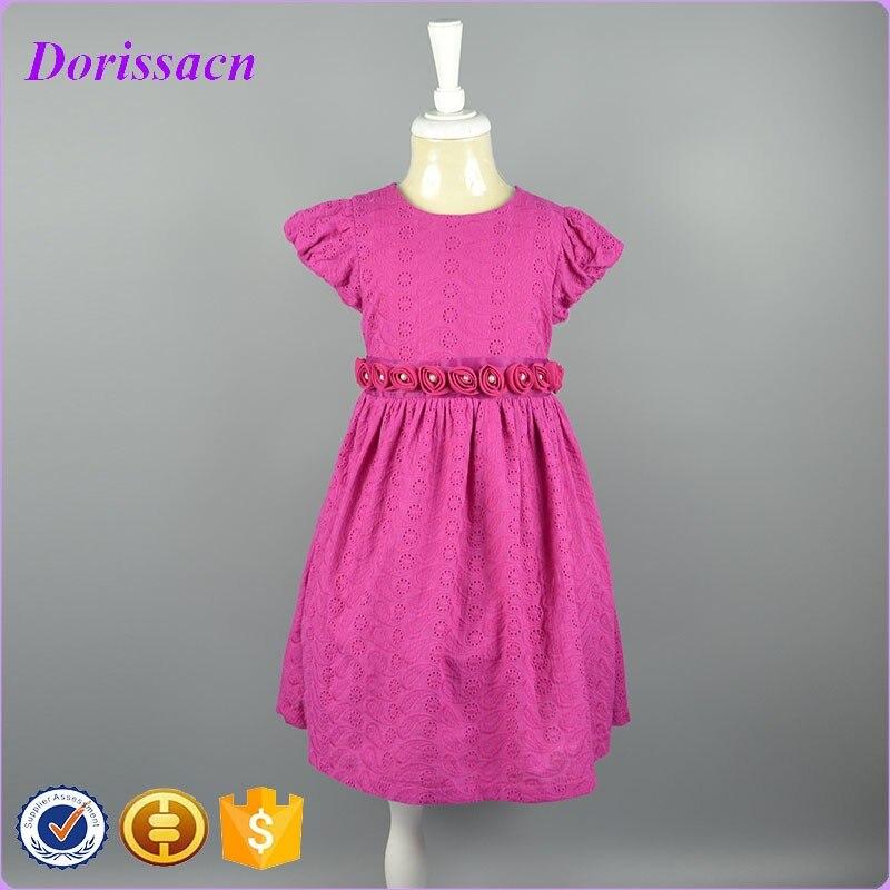 3ee5ceba2c02 new casual cotton girl dress baby girls princess formal dress 4 7Y ...