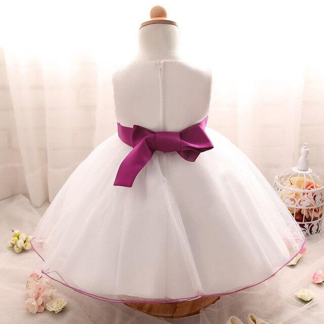 2017 Newborn White Dress For Baptism Sleeveless Baby Girl Lace ...