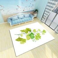 3D Printing Nordic Modern Simple Carpet Kitchen Toilet Customized Mattress Bedside Carpet in Bedroom carpet livingroom