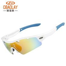 OBAOLAY 2016 Professional Polarized Cycling Glasses Bike Goggles Outdoor Sports Bicycle Sunglasses TR90 OBL0892