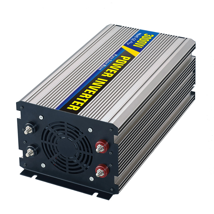 High efficiency 3000W Car Power Inverter Converter DC 12V to AC 110V or 220V Pure Sine Wave Peak 6000W Power Solar inverters high efficiency 3000w car power inverter converter dc 12v to ac 110v or 220v pure sine wave peak 6000w power solar inverters