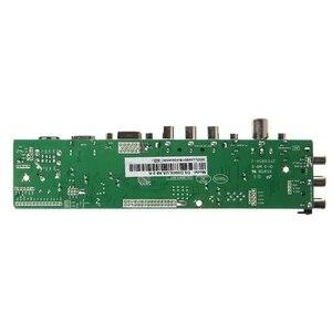 Image 3 - V56 V59 Universal LCD Driver Board DVB T2 TV Board+7 Key Switch+IR+1 Lamp Inverter+LVDS Cable Kit 3663 Oct18 Dropship