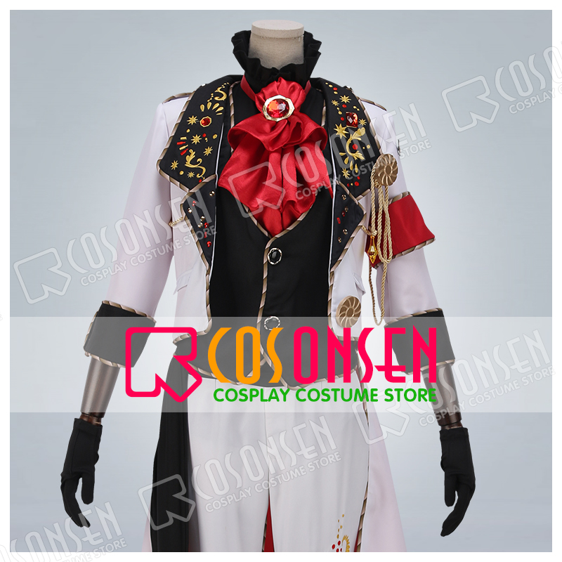 Anime IDOLiSH7 OP WiSH VOYAGE Nanase Riku Uniform Embroidery Version Cosplay Costume All Sizes