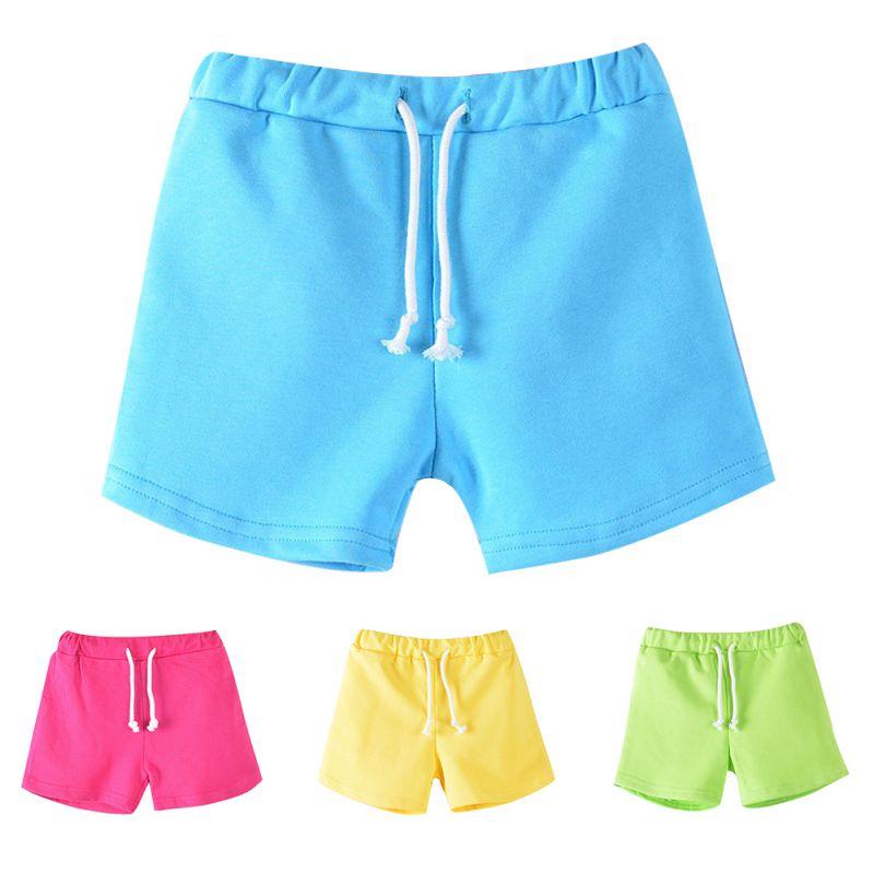 Chłopięce spodnie plażowe Dziecięce letnie koszulki dziewczęce - Ubrania dziecięce - Zdjęcie 1