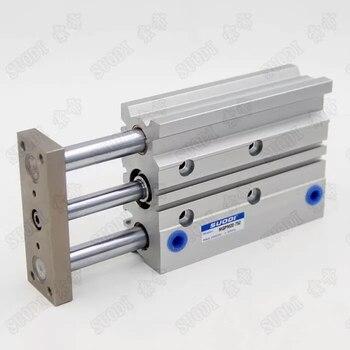 цена MGPM20-10/20/30/40/50/75/100 Compact pneumatic air cylinder with guide rod cylinder MGPM20-10 MGPM20-20 MGPM20-30 MGPM20-40 онлайн в 2017 году