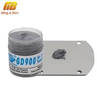 Pasta de Grasa de silicona conductora térmica GD900 de alto rendimiento 30g para LED DIY Chip ordenador de escritorio CPU refrigeración LED radiador