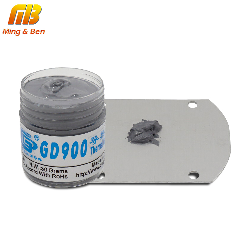 High Performance GD900 Thermal Conductive Grease Paste Silicone 30g For LED DIY Chip Computer Desktop CPU Cooling LED Radiator