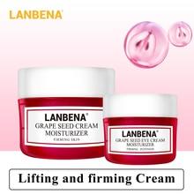 Lanbena Grape Seed Face Cream+eye Cream 2pcs Moisturizing Whitening Anti Aging Tighten Serum Deeply Repairing Firming Skin Care