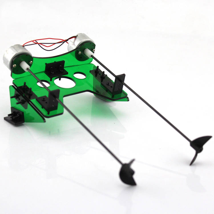 RC Model Boat Module Motor+Shaft+CW/CCW Propeller+Bracket+Fixed Seat Kit for DIY Toy Ship Accessories Spare Parts 3 blade 4818 propeller for rc electric methanol racing boat o yacht model 7075 aluminium alloy rc boat cw ccw propeller 48mm