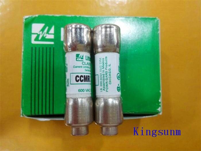 7 Amp 600V Time Delay Fuse 10*38 # Littelfuse CCMR-7 7A
