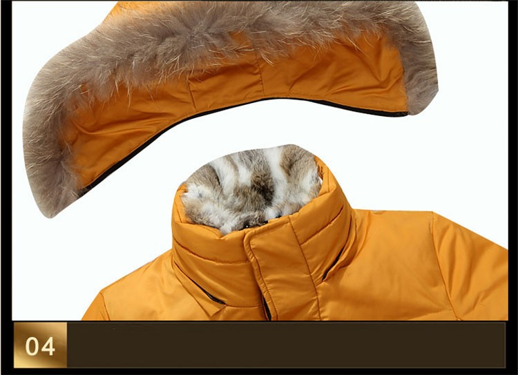 Winter Down Jacket Men Fur Parka Fashion Casual Thicken Warm Fur collar Hooded Men Women jacket&coat couple Down Jacket S-5XL (22)