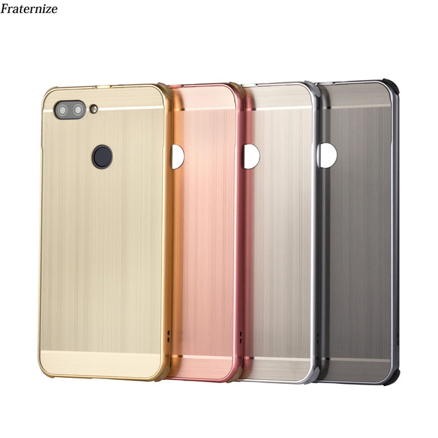 official photos 80e61 f222d US $6.49 35% OFF|luxury Aluminum Metal Case For Asus Zenfone Max Plus M1  ZB570TL 5.7 Metal bumper Frame+Shockproof Plastic Back Cover Coque Capa-in  ...