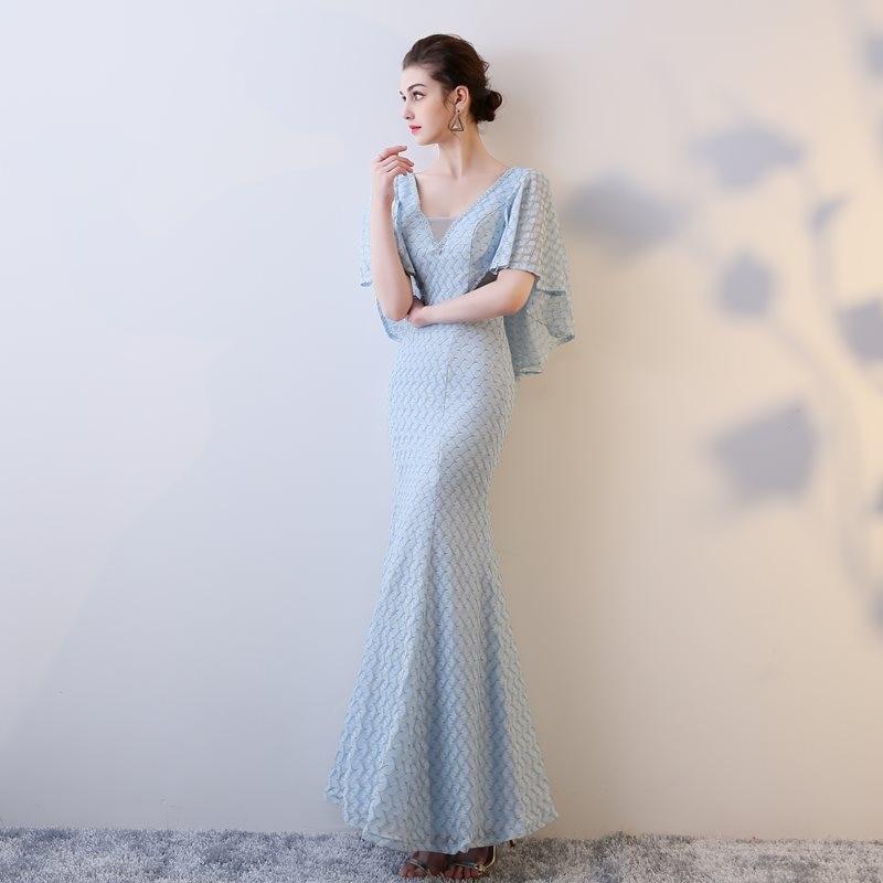 a84ed3021c 2017 Aso Ebi Styles Dresses Evening Wear Mermaid Royal Blue Off the ...