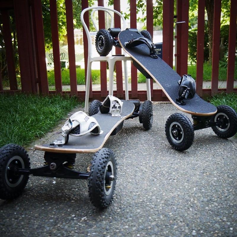 powered electric skateboard,big wheels powered skateboardin Self Balance Scooters from Sports