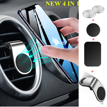 Air Vent Mount Magnetic Car Phone Holder Stand for IPhone XS Xr 6 7 Magnet Holder for Phone In Car GPS Bracket Cellphone Support universal car swivel air vent mount holder for gps cellphone black