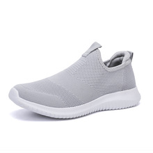 LZJ 2019 Spring Men Shoes Slip On Men Casual Shoes Lightweig