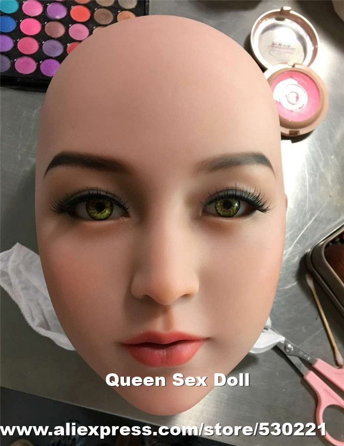 WMDOLL Top quality #31 Tan skin sex doll head for silicone doll, realistic male love doll head, oral doll sex toys olympia le tan джинсовые брюки