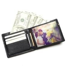 Fashion And Vintage Wallet For Man Wholesale China 100% Genuine Leather Men's Wallets Men  Cowhide