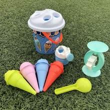 Детские игрушки из песка пляжные детские модели мороженого песок