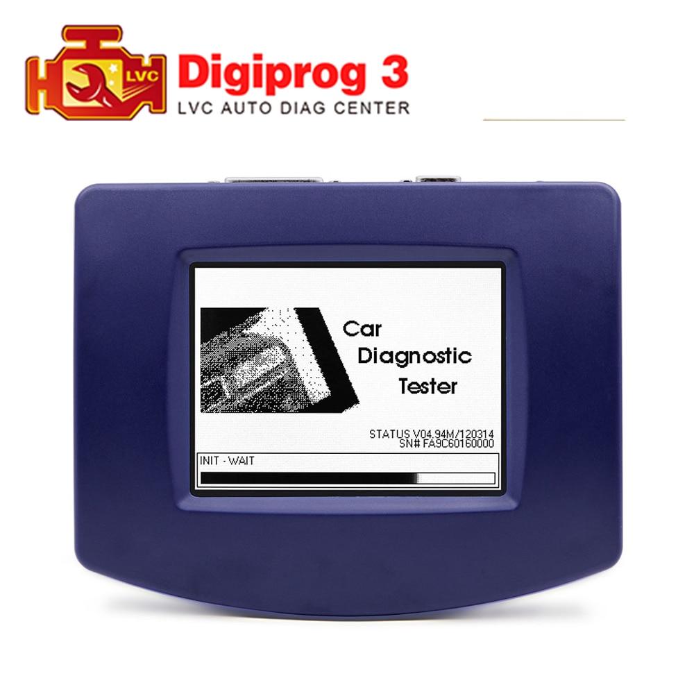 Digiprog III V4.94 Digiprog 3 FTDI OBD2 ST01 ST04 cable odometer mileage correction tool Digiprog3 Main unit odometer programmer