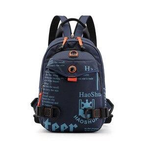 Image 4 - New Designer Fashion Men Backpack Mini Soft Touch Multi Function Small Backpack Male Shoulder Bag Men Purse