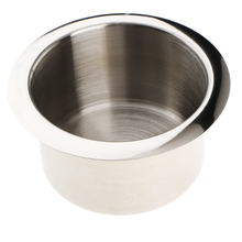High Quality Marine Boat Car Camper RV Cup Drink Holder Base Polished Height: 55mm/2.17
