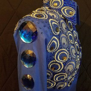 Image 5 - JUNAO 20pcs 52mm Large AB Crystal Rhinestone Round Big Strass Diamond Flat Back Acrylic Gems Non Sew Crystal Stones DIY Crafts