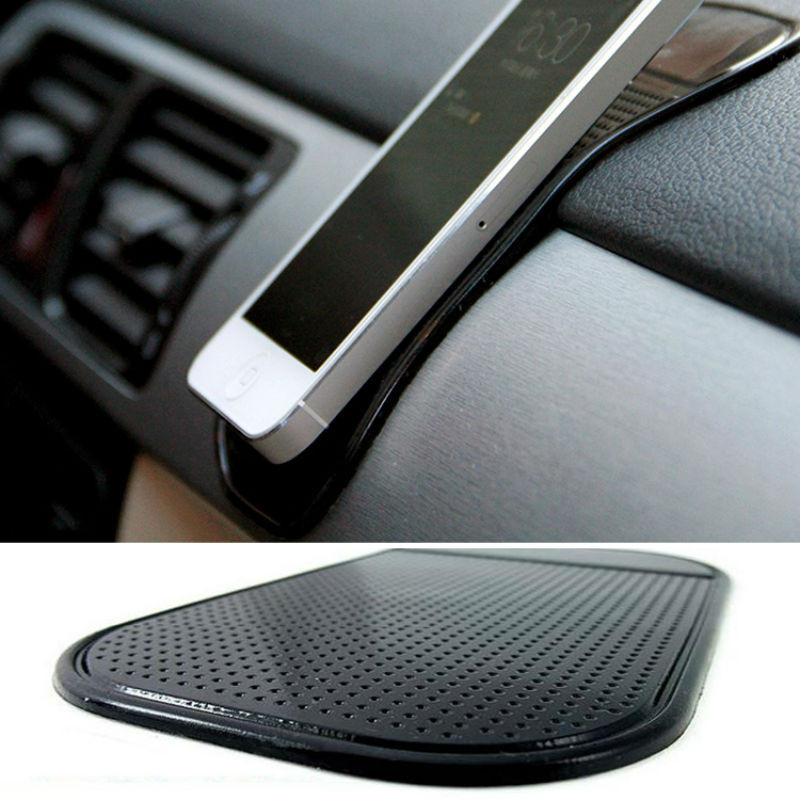 Car Silicone Slip Resistant Mobile Phone Mat GPS car anti skid Pad Car font b Accessories