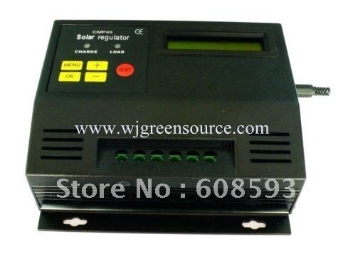 wholesale! 40A LCD screen Solar Regulator  solar Charge controller 12/24V auto LCD display PWM control charger for solar energy