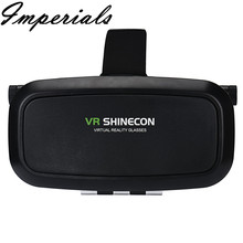 New 3D Virtual Reality VR Shinecon 3D Glasses Head Mount Movies Games for Smartphone 2