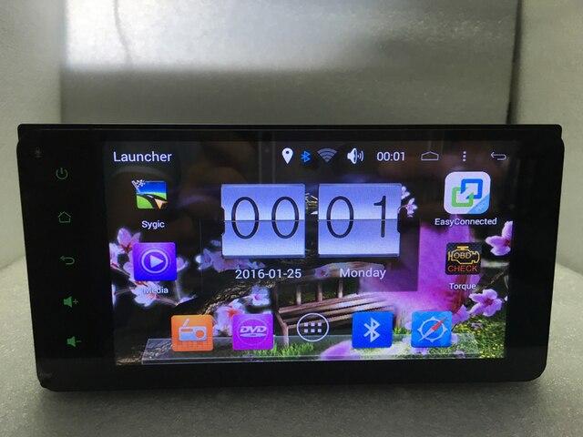 Бесплатная доставка для Toyota corolla rav4 LAND CRUISER Android 6.0 Емкостный Экран DVD Quad Core 3 Г WI-FI Радио GPS, ПРОЦЕССОР 1.7 ГГЦ