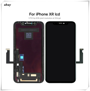 High Qaulity For iPhone XR LCD Display Touch Screen Digitizer Assembly Replacement OEM/TFT LCD 100% Test No Dead Pixel 6.1''