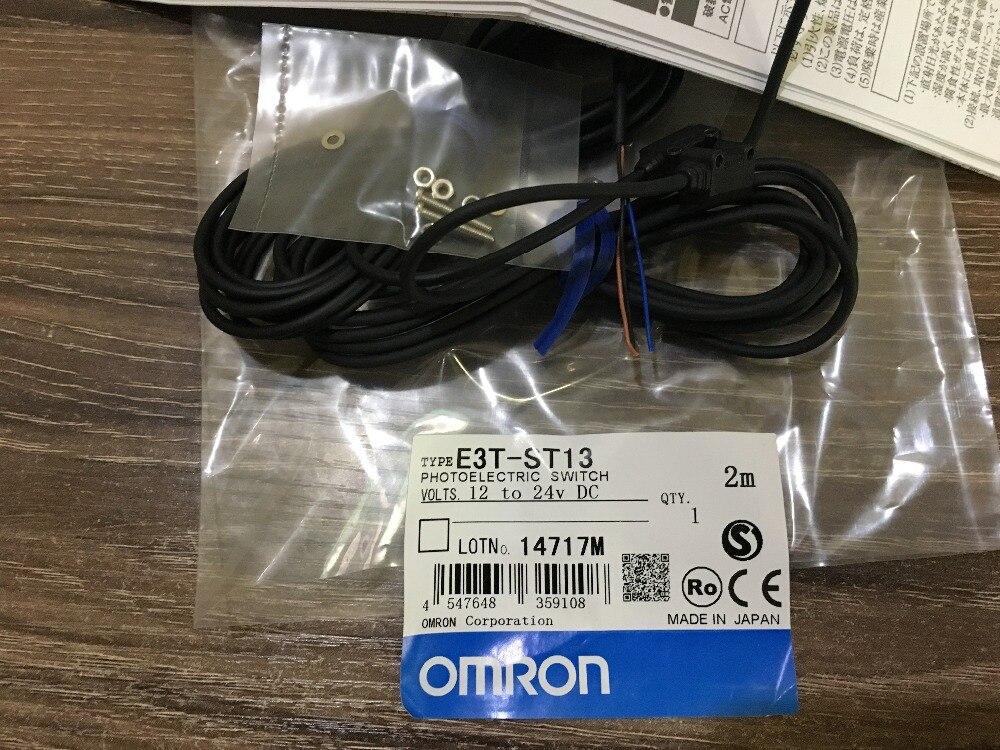E3T ST13 OMRON photoelectric sensor