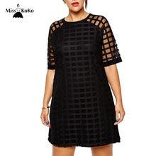 MissKoKo плюс Размеры модные женские туфли Костюмы Повседневное одноцветное пледы ПР Стиль перспектива лоскутное большой Размеры платье 5XL 6XL vestidos