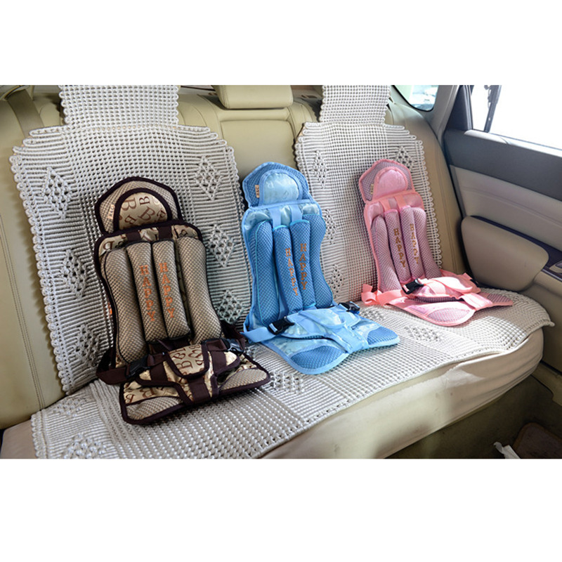 New 1-5 Years Old Baby Portable Car Safety Seat Kids Car Seat 20kg for Children Toddlers Car Seat Cover Harness Car Chairs