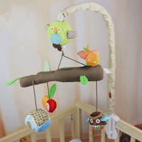 Music Box Infant Baby Bed Bell Baby Toys 0 12 Months Soft Mobile Crib Rotating Music Hanging Rattles Musical Educational Toys