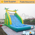 Jungle Commercial Inflatable Slide with Water Pool for Adults and Kids
