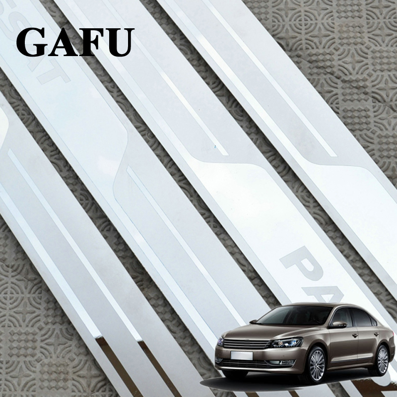 Door sill scuff plate Guard Sills Fit Volkswagen VW Passat 2006 07 08 09 10-17