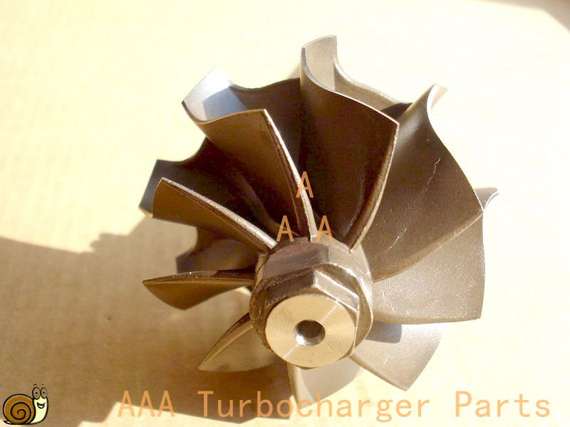 GT22 Turbo parts NPR Truck Turbine  wheel size 43mm*50.3mm supplier AAA Turbocharger Parts