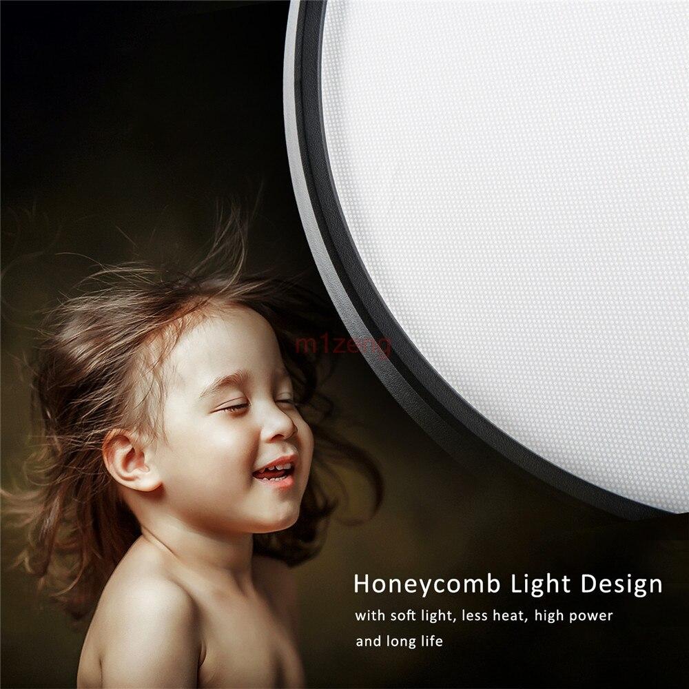 LED Vídeo Luz Do Flash Anel para