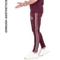 OA New Arrivals Men's Jogger Trousers Fitness Workout Long Pants Fashion Casual Cotton Slim Sweatpants Tracksuit Pants For Men
