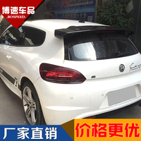 Fit for Volkswagen Scirocco  vw scirocco R modified carbon fiber rear wing with  rear spoiler wing