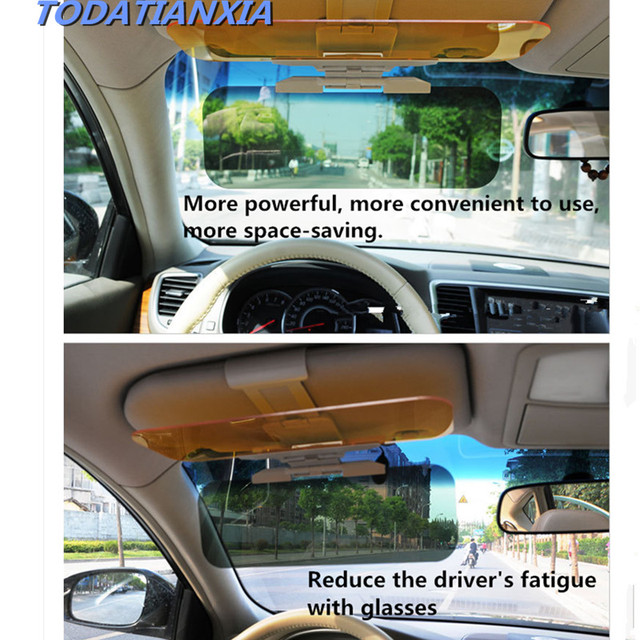Car Sun Visor Hd Goggle Day Night Vision Driving Mirror For Toyota Camry 2007 2008