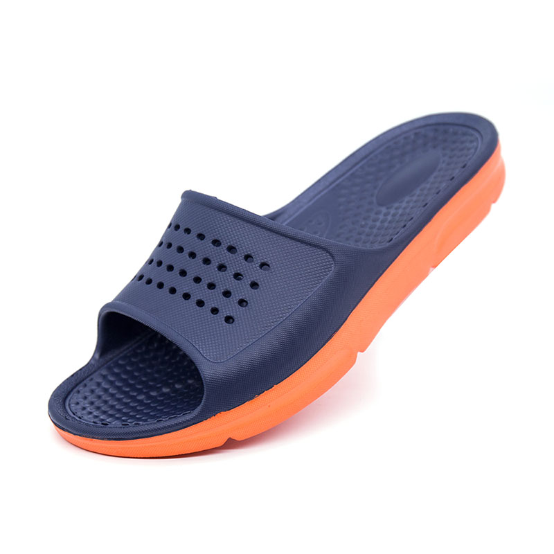 Men's Footwear Man Hollow Flat Bath Soft Slippers Summer Indoor & Outdoor Slippers Free Shipping Sapato Masculino Male Flip-Flop