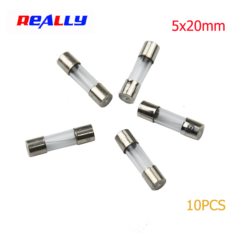 250 Volt 10 Amp 3AG Type Glass Fast Blow Fuses  USA Seller Lot of 5 Pcs