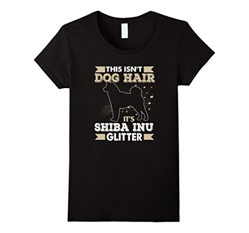 This Isn't Dog Hair It's Shiba Inu Glitter T-Shirt Women T Shirt On Sale Exercise Organic Cotton The New Sexy Tops Tee