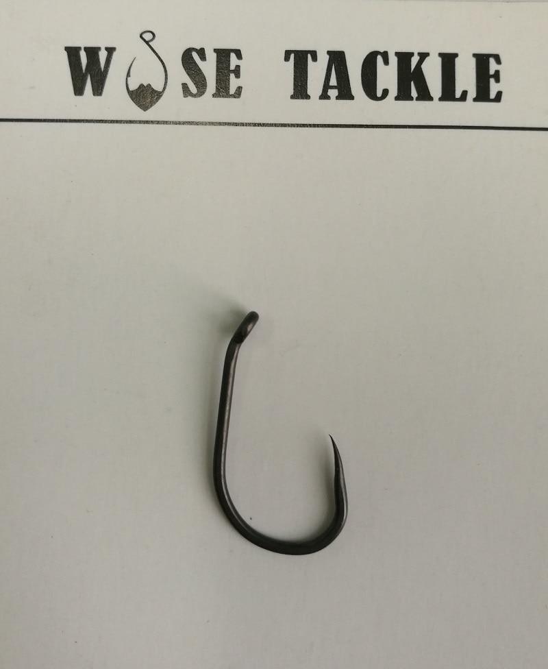 100 barbless carp fishing hooks straight 6 tackle