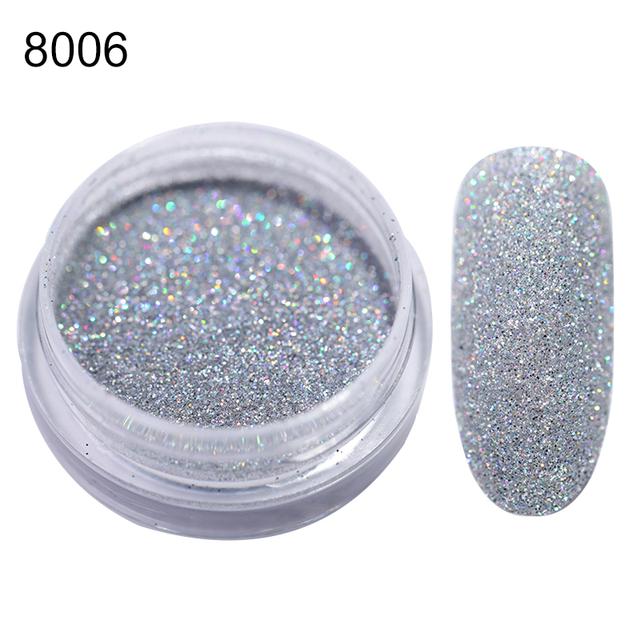 Holographic Nail Glitter Powder